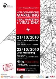non-conventional marketing - NinjaMarketing