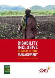 Disability inclusive disaster risk management - G3ict: The Global ...