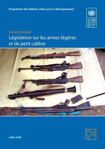 Législation sur les armes légères et de petit calibre - PoA-ISS