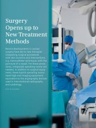 Surgery Opens up to New Treatment Methods - Siemens Healthcare