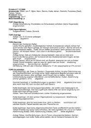 Protokoll 7.12.2009 Anwesende: Malte, Jan F., Björn, Marc, Dennis ...