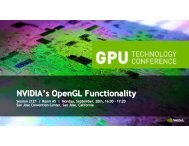 Nvidia's Opengl Functionality