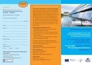 Programm und Anmeldeformular (pdf) - Arbeiten + Lernen an Lippe ...