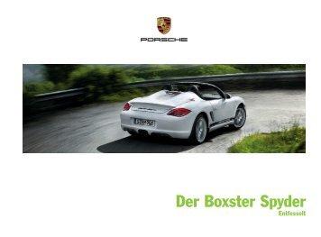 Der Boxster Spyder