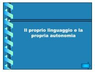 Il proprio linguaggio e la propria autonomia