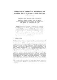 Mobile-to-Grid Middleware - Ubiquitous Computing Lab