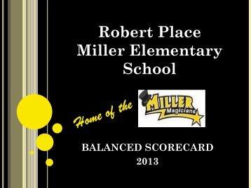 Miller Continuous Improvement Plan - Bismarck Public Schools