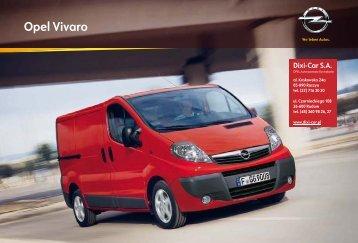 katalog Vivaro Van - Opel Dixi-Car