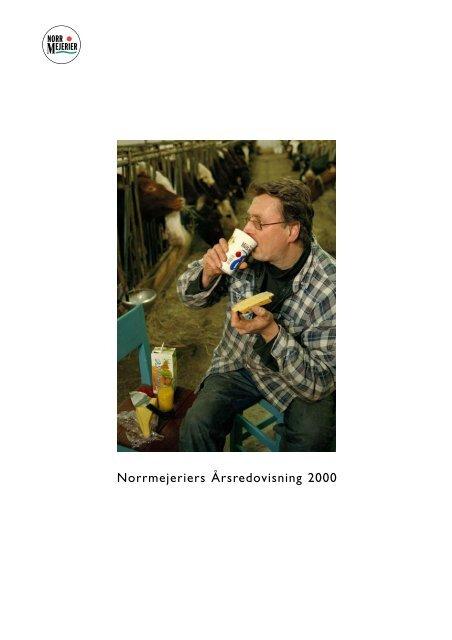 Årsredovisning 2000 - Norrmejerier