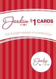 Fun & bright designs at a great price! - International Greetings