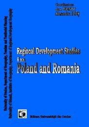 regional development studies in poland and romania