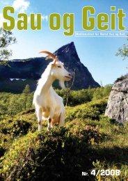 Nr. 4/2008 - Norsk Sau og Geit