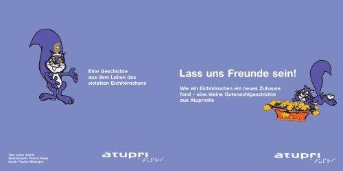 Lass uns Freunde sein», Kinderbuch für Atupri, 2005 - Lahor Jakrlin