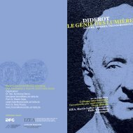 diderot le génie des lumière - IZEA - Martin-Luther-Universität Halle ...