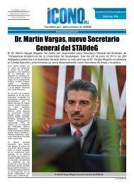 Dr. Martín Vargas, nuevo Secretario General del STAUdeG