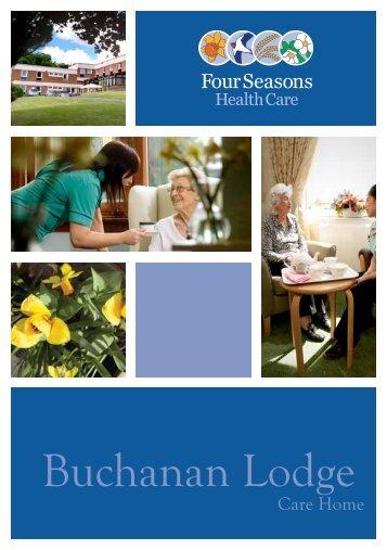 Buchanan Lodge Brochure - Four Seasons Health Care
