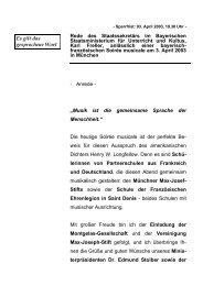 Rede anlässlich einer bayerisch-französischen Soirée ... - Freller, Karl
