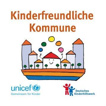 """Broschüre """"Kinderfreundliche Kommune"""" - Deutsches Kinderhilfswerk"""