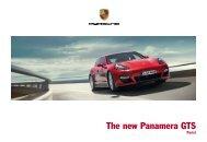 The new Panamera GTS - Porsche