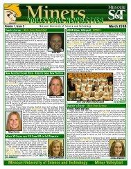 March 2008 - Missouri S&T Athletics