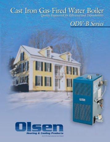 ODV-B Series Boilers - Den Air