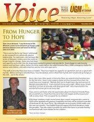 November 2012 - Union Gospel Mission