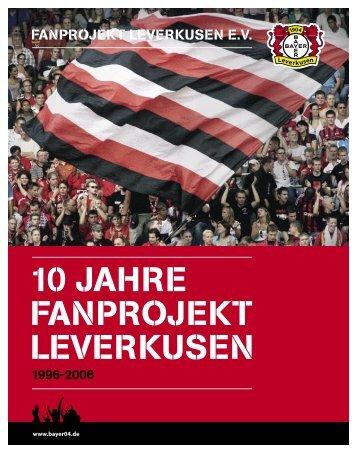 10 Jahre Fanprojekt Leverkusen e.V. - Bayer 04 Presse-Server