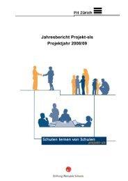 Jahresbericht 2008/2009 - Projekt SLS