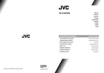 AV-21QS5SN - JVC