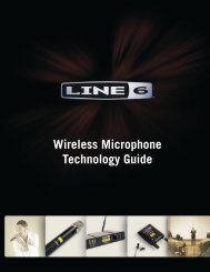 Wireless Microphone Technology Guide - Line 6