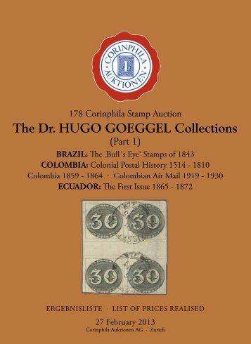178th. Auction - Corinphila Auktionen AG