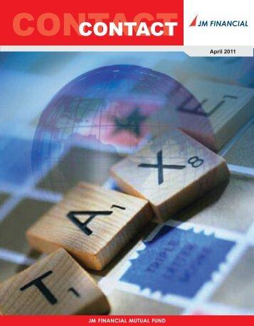 JM_Factsheet_April 2011 - JM Financial - Mutual Fund