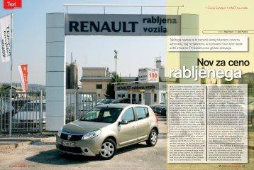 Nov za ceno - Avto Magazin