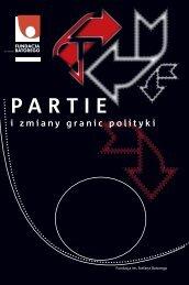 Partie i zmiany granic polityki (2009) - Fundacja im. Stefana Batorego