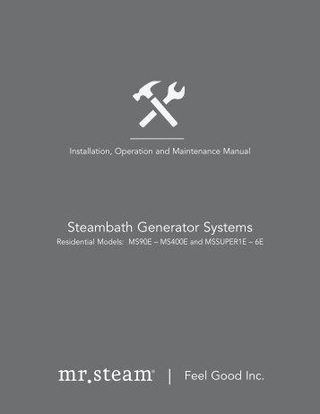 MS Series Installation, Operation & Maintenance Manual PDF ...