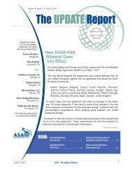 Volume 19, Issue 3 • June 27, 2011 - Aviation Suppliers Association
