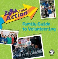 Family Guide to Volunteering - PBS Kids