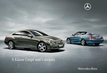 E-Klasse Coupé und Cabriolet. - Mercedes-Benz Magyarország