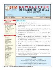 "Issue No. 45/2011 Vol. XLV ""Monthly"" Date: 30.08.2011 ... - IIM"