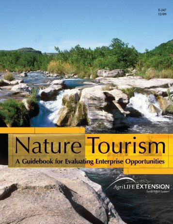 Nature Tourism: A Guidebook for Evaluating Enterprise Opportunities