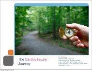 The Cardiovascular Journey - Heart and Stroke Foundation of Ontario