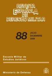 REVISTA ESPAÑOLA DE DERECHO MILITAR Nº 88 JULIO ...