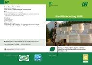 Bio-Milchviehtag 2010 - Braunvieh Austria
