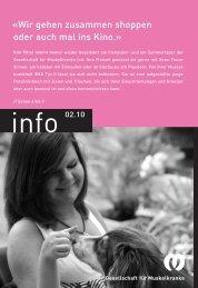 PDF 3.2 MB - Schweizerische Gesellschaft für Muskelkranke (SGMK)