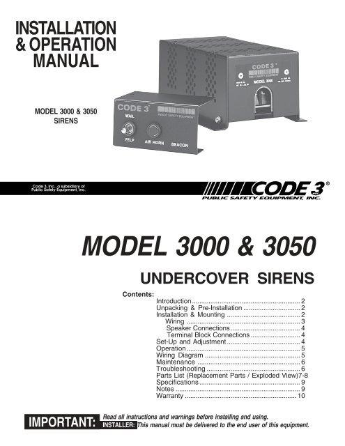 Code 3 2100 Lightbar Wiring Diagram from img.yumpu.com