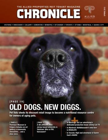 old dogs. new diggs. - Allied Properties Real Estate Investment Trust ...