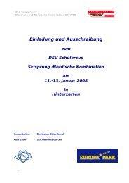 Einladung als PDF - Skiclub Hinterzarten