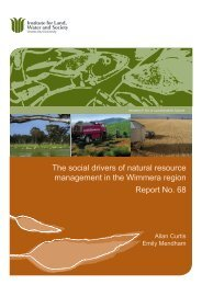 The social drivers of natural resource management in the ... - Life
