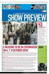 5 reasons to be in copenhagen on 6, 7, 8 october 2010! - Post-Expo