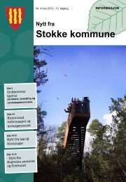 Nr. 4 Mai-juni 2012 - Stokke kommune